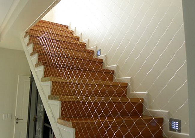 child proofed stairs